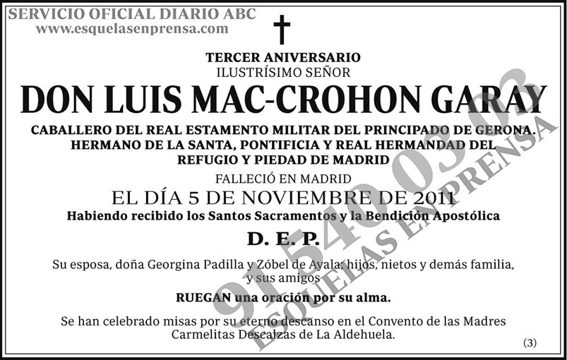 Luis Mac-Crohon Garay